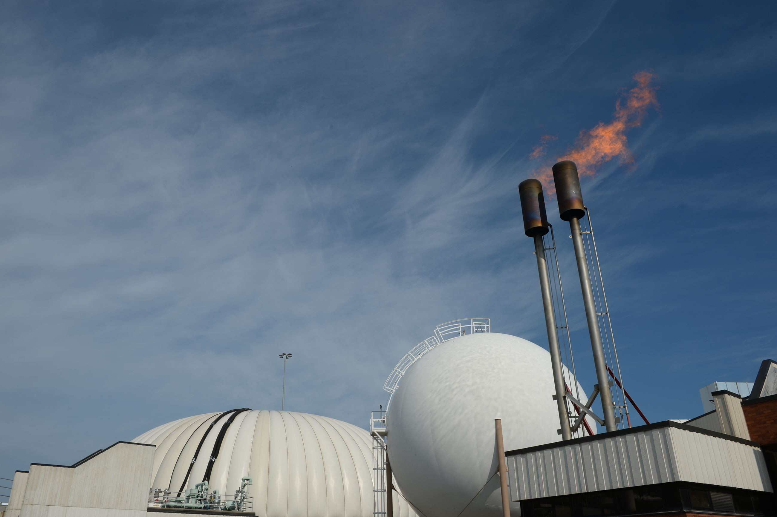 Anaerobic Digestion Biogas Waste Flare