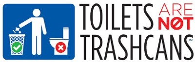 Toilets Are Not Trashcans